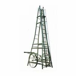 MNO-7 Aluminum MS Big Wheeled Tower Ladder