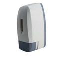 White Gray Manual Soap Dispenser