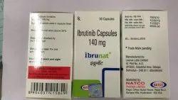 Ibrutinib Capsules/ Ibrunat 140 Mg