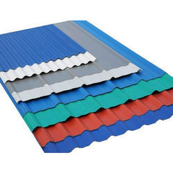 Colour Coated Corrugated Profile Sheet