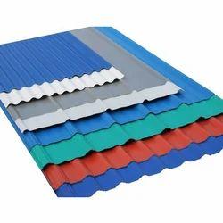 Colour Coated Corrugated Profile Sheet