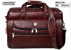 Hammonds Flycatcher Real Leather Messenger Bag