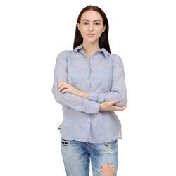 Full Sleeves Ladies Shirts