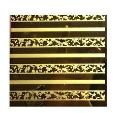 Stainless Steel Stripe Texture Designer Sheets