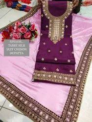 Unstitch Tabby Silk Partywear Suits