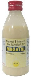 Magaldrate & Simethicone Oral Suspension Syrup, Packaging Size: 170 mL, Packaging Type: Bottle