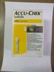 Plastic Accucheck Softclix Lancets