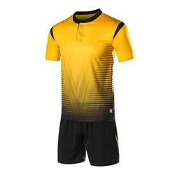 9bc1a0ed4 KD Yellow Soccer Football Jersey Set