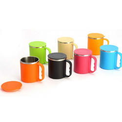 Plastic Coffee Mug, For Home And Office