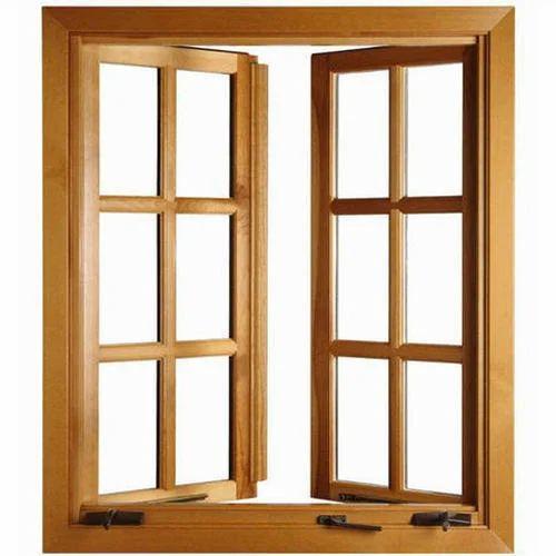 Exterior Wooden Window Frame