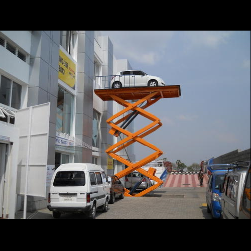 Car Lift And Elevator Hydraulic Car Scissor Lift Manufacturer From