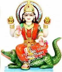 Marble Ganga Mata Statue