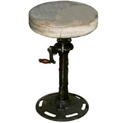 Cast Iron Adjustable Stool