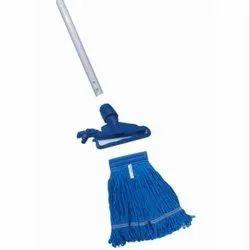 Kentucky Wet Mop Frame CK Micro Mop Blue Refill & Metal Italian Rod