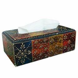 Rawsome Shack Wooden Tissue Box