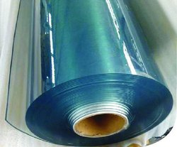 Transparent Plain PVC Flexible Sheet, Size: 1220 x 10 m