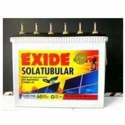 6LMS150L Exide Sola-Tubular Battery, Voltage: 12 V