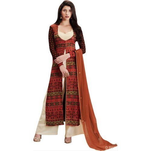 Cotton XL Ladies Palazzo Suit