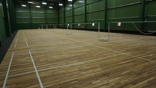 Badminton Flooring, Warranty: 5 Years