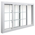 Horizontal UPVC Sliding Window