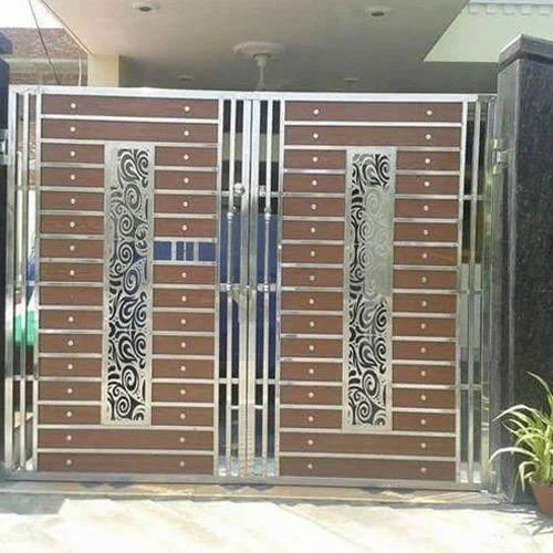 Fancy Steel Gate at Rs 380/kilogram   Steel Gate   ID ...