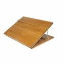 Wooden Table Top 16x12 Inches Elevator Writing Desk