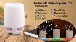 Tumbler with Bluetooth Speaker