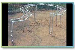 SNS 334 Double Zig Zag Playground Climber