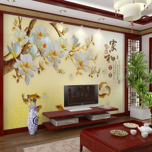 3d Natural Bedroom Wallpaper