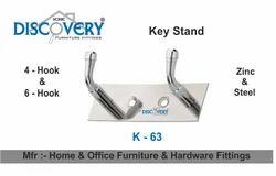 Double Hole Key Stand Hook