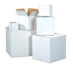 White Packaging Corrugated Box