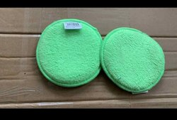 Green And Blue Microfibre Applicator Foam Pad 4, Packing Type: Box