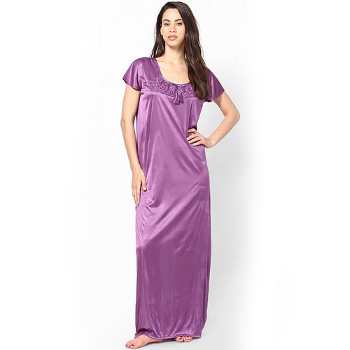 d18c108161 Nighties Satin Ladies Plain Nighty