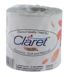 CLARET HIGH QUALITY SOFT TOILET ROLLS 270 PULLS 2 PLY
