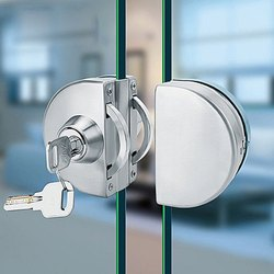 Index Glass to Glass Lock with Both Sides Key (Round Shape)