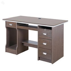 Wood Brown Computer Office Table