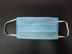 3 Ply Face Mask Without Nose Pin