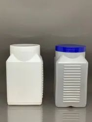 HDPE Ribbed Square Jar 1 Kg