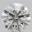1.27ct Lab Grown Diamond CVD H VVS2 Round Brilliant Cut IGI Certified Stone
