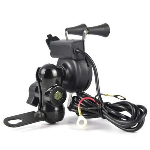 SAFESEED Bike Mobile Mount With USB Charger Mobile Holder