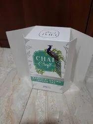 Multicolor DUPLEX BOARD Tea carton for green tea