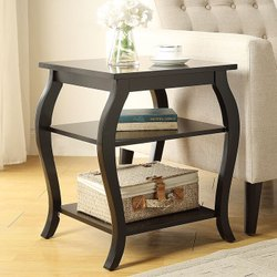 KIRAN KRAFTS Wooden Side Table, For Hotel, Size: 18x16x16 Inch