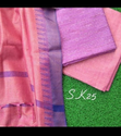 Jute Organza Dress Material With Kota Temple Work Dupatta