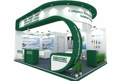 3d Exhibition Stall Design : Exhibition d stall design service in shakarpur delhi
