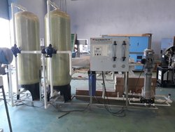 FRP Base Mineral RO Water Plant