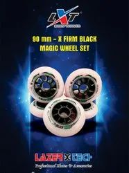 90 mm X Firm Black Magic Wheel Set