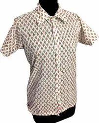 Block Print Men Shirt