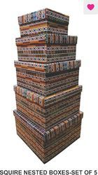 Squire Nested Boxes - Set Of 5