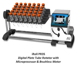 iRoll PR35 Digital Plate Tube Rotator with Microprocessor & Brushless Motor