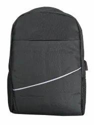 Anti Theft Black Laptop Bag
